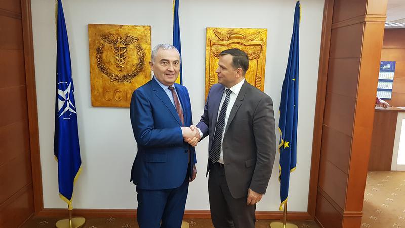 Andrei Năstasde, vizită România1 | Sursa: platformada.md