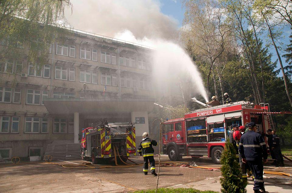 Incendiu Telecentru