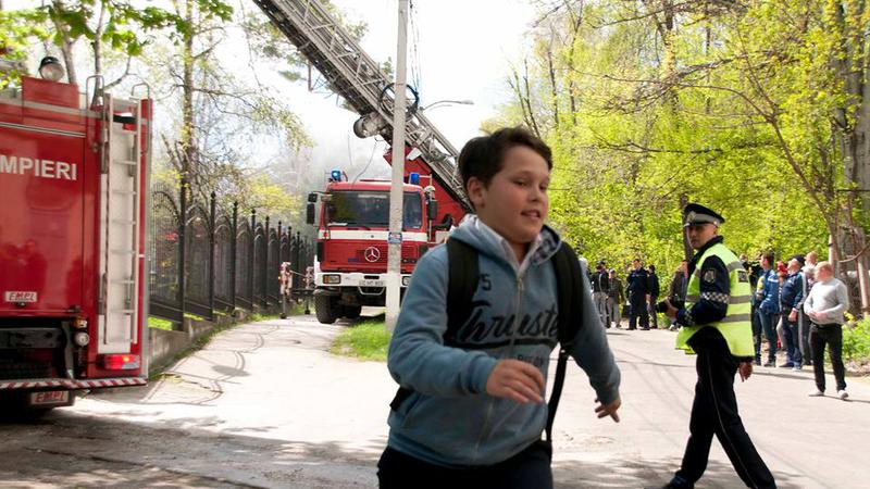incendiu Telecentru4   Sursa: NADEJDA ROSCOVANU