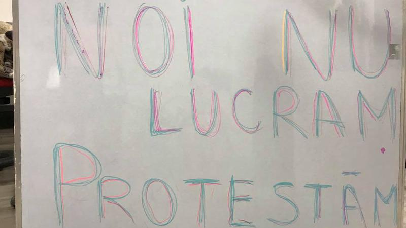 protest la locul de muncă8 | Sursa: Facebook/Taniusha Bulicanu