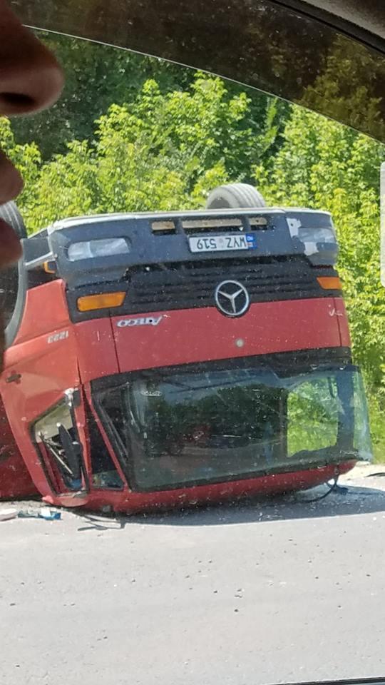 accident trușeni