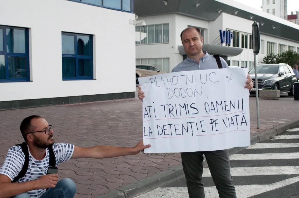 6 septembrie 2018. Aeroportul din Chişinău.