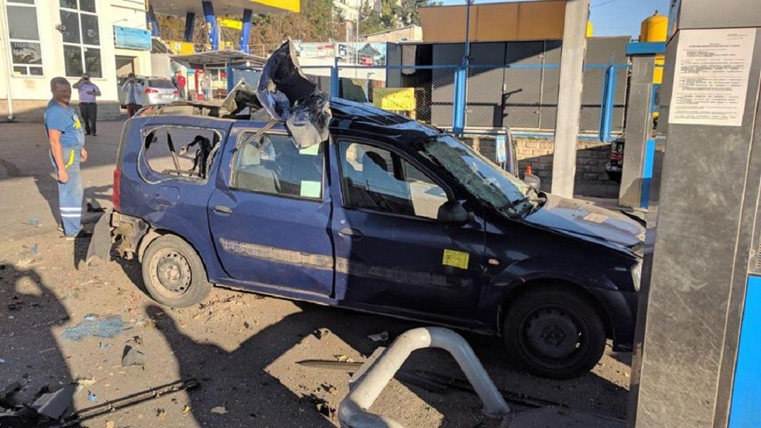 explozie mașina