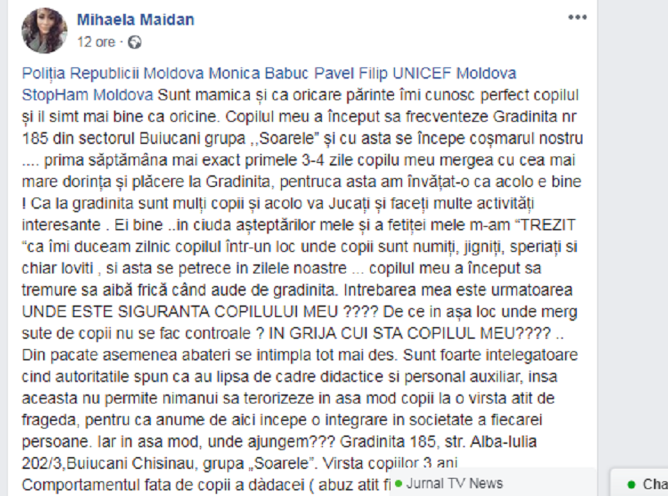 Mihaela Maidan//Facebook