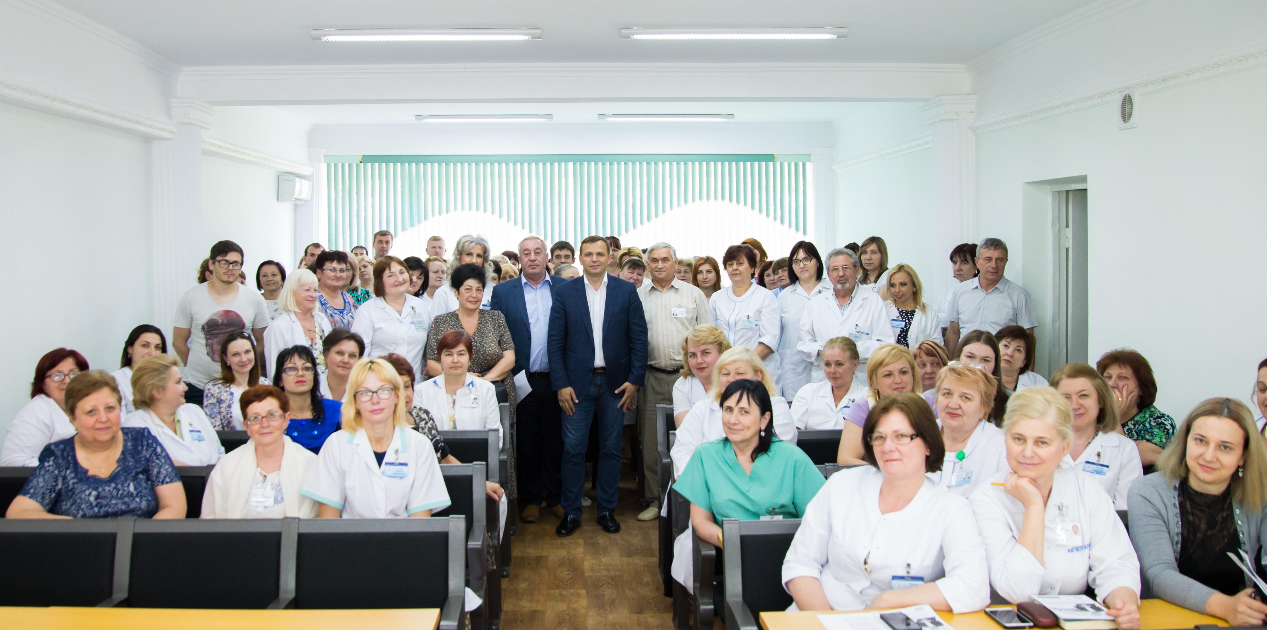 Andrei Năstase, întâlnire medici5