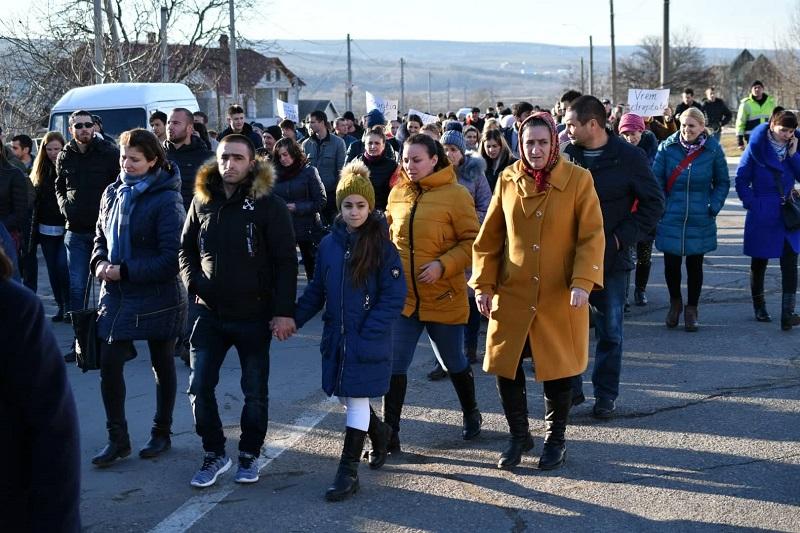 protest Ialoveni
