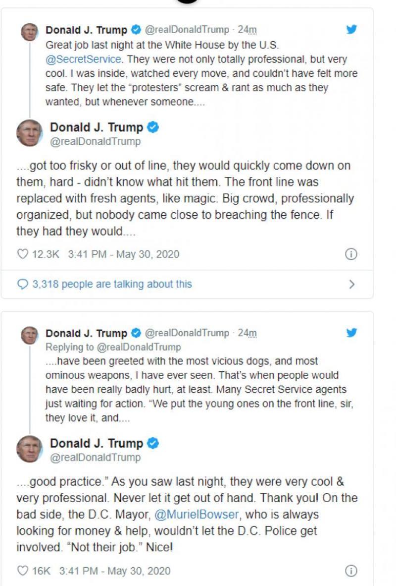 Trump pe Twitter