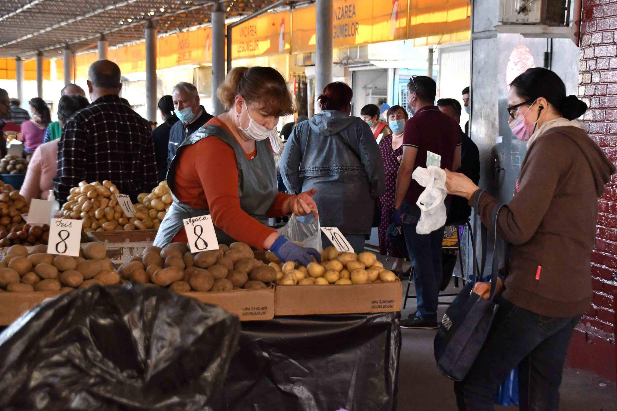 Piața Centrală legume