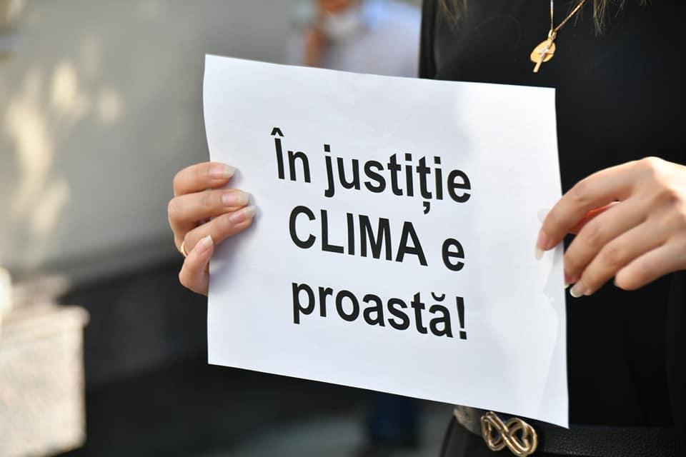 protest judecători