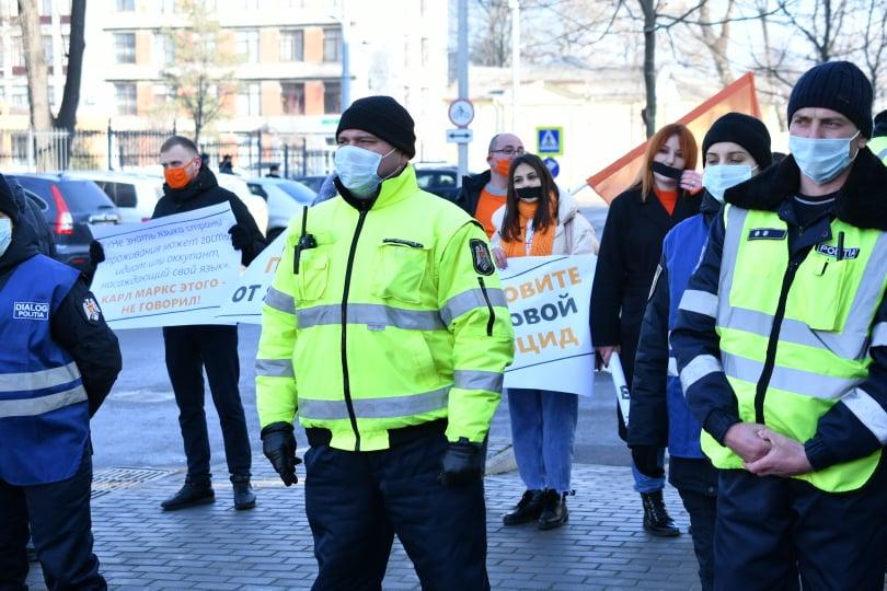 protest la CC