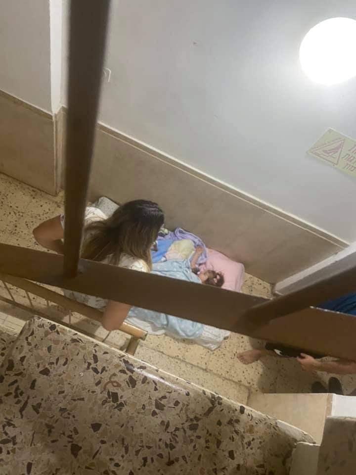 Copii dorm Israel